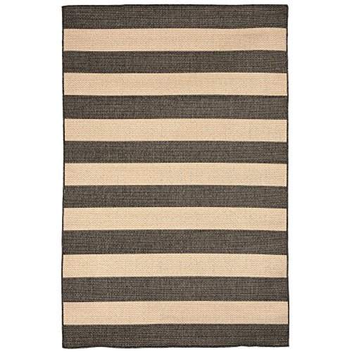 Liora Manne Veranda Thick Stripe Rug, Indoor/Outdoor, 23