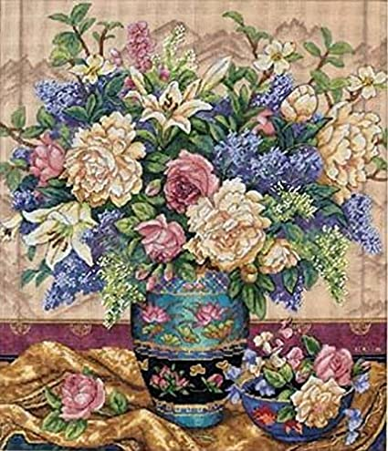 Dimensions Needlecrafts Counted Cross Stitch, Oriental Splendor