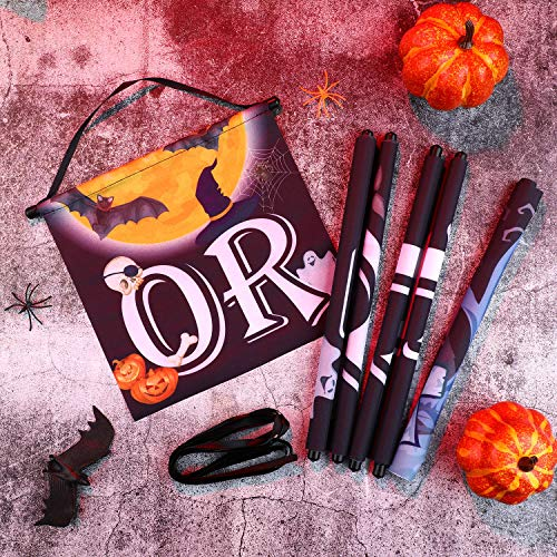 61XKRBXHxAL - Chuangdi 4 Pieces Trick OR Treat Banner Halloween
