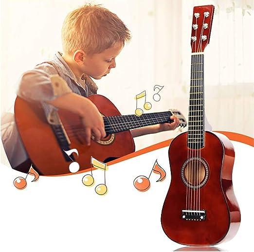 YUSDP Guitarra acústica para Principiantes de 23 Pulgadas ...