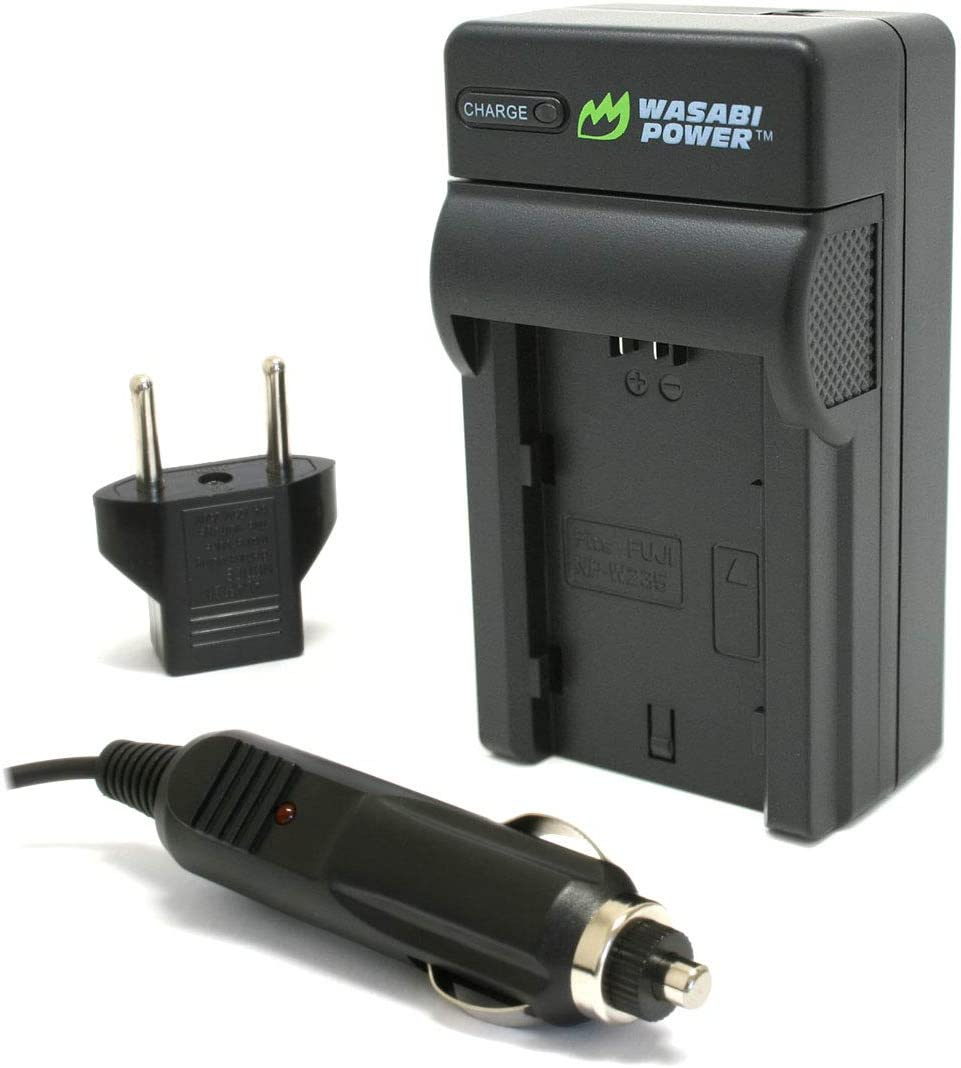 Wasabi Power Battery and Charger for Fujifilm NP-W235 2-Pack