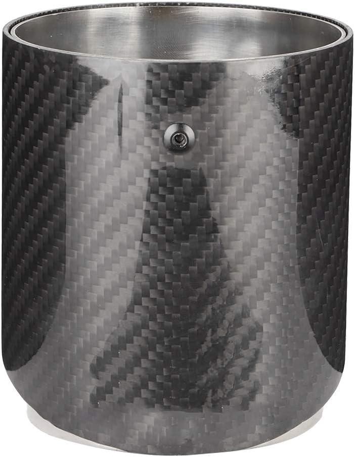 Carbon-Faser-Auspuff Edelstahl-Schalld/ämpfer Spitze Fit for Mini Cooper R55 R56 R60 R61 KSTE for Mini R55 Schalld/ämpfer
