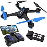 REMOKING RC Drone with 720P FPV Wi-Fi HD Camera Live Video Racing Quadcopter Headless Mode 2.4GHz 360°flip 4 Channels…