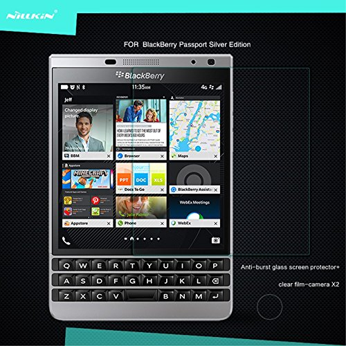 Nillkin Screen Protector for Blackberry Passport Silver Edition - Retail Packaging - Paris by Nillkin