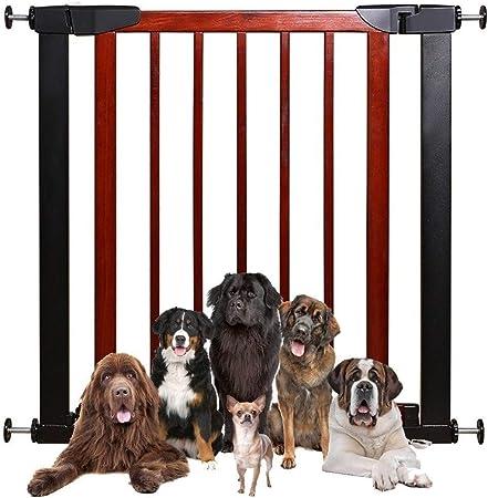 HONGAN Puerta De Bebé Valla Barandillas De Escalera Puerta De Aislamiento Infantil Protección De Valla Perro De Mascota Valla De Perforación Libre (Color : High78CM, Size : 180-187cm): Amazon.es: Hogar