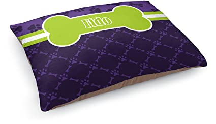 617d3f26f1a6 Image Unavailable. Image not available for. Color: YouCustomizeIt Pawprints  & Bones Dog Pillow Bed (Personalized)
