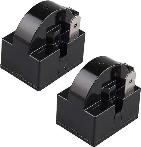 Futheda 2 piezas 15 Ohm 220 V un pin PTC Starter Relay 1 Pin PTC ...