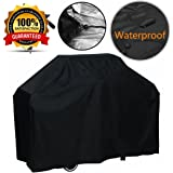 FEMOR Grill Cover, Medium 57 Inch BBQ Cover Waterproof, Heavy Duty Gas Grill