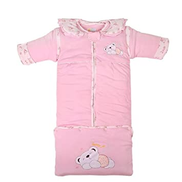 d5ca4bc4fed0 Amazon.com  Fairy Baby Thick Sleeping Bag 3.5 Tog Wearable Blanket ...