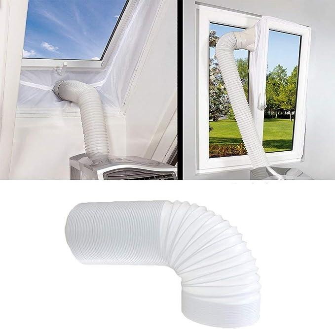 150//130 mm para Adaptador de Manguera Manguera de Escape port/átil para Manguera de Aire Acondicionado Manguera de ventilaci/ón para Aire Acondicionado Conector de Manguera de Escape Acoplamiento