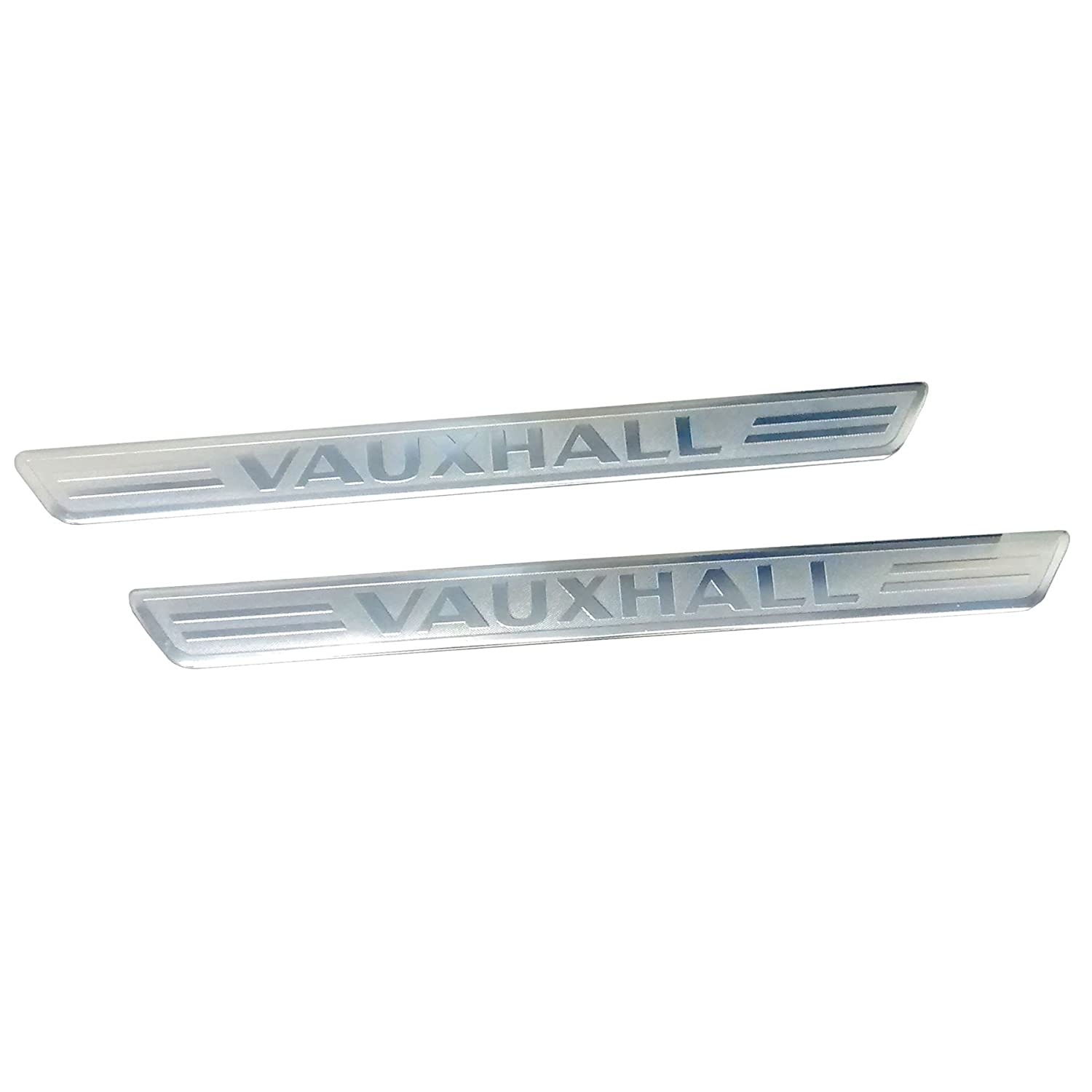 Door Sill Kick Plates Genuine Official Gm P/N 13318265 Vauxhall (Genuine OE)