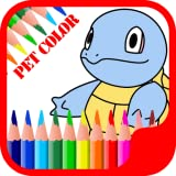 Pet Monster Coloring