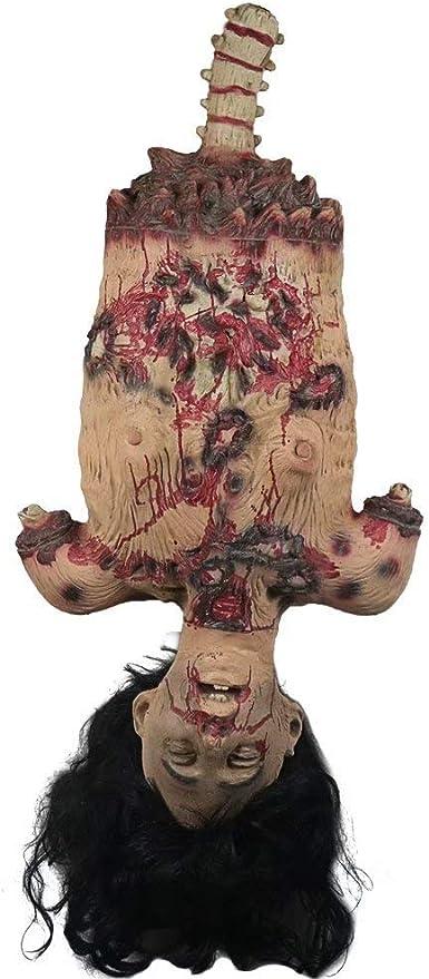 UK Halloween Lifesize Hanging Corpse Broken Half Body Walking Dead Party Props