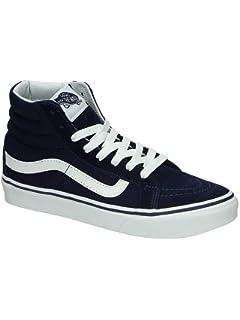 Amazon.com | Vans Women's Sayings SK8-Hi Slim Skate Shoes (Sayings ...