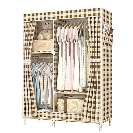 Amazon.com: XBZHYG armario portátil, atrevido de madera ...