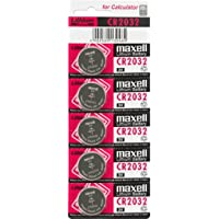 Maxell CR2032 3V - Pilas (Litio, Button/coin), paquete de 5 unidades