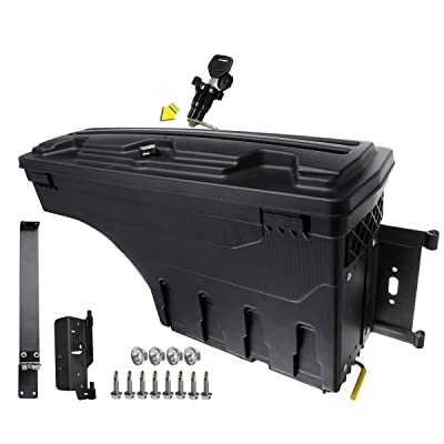 A-Premium Truck Bed Storage Box Case Tool Box Compatible with Dodge Ram 1500 2500 3500 2002-2020 Rear Passenger Side: Automotive [5Bkhe0405752]