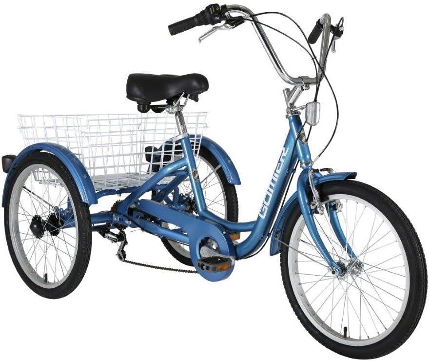 2016 gomier bajo paso adulto carga triciclo rueda de 20