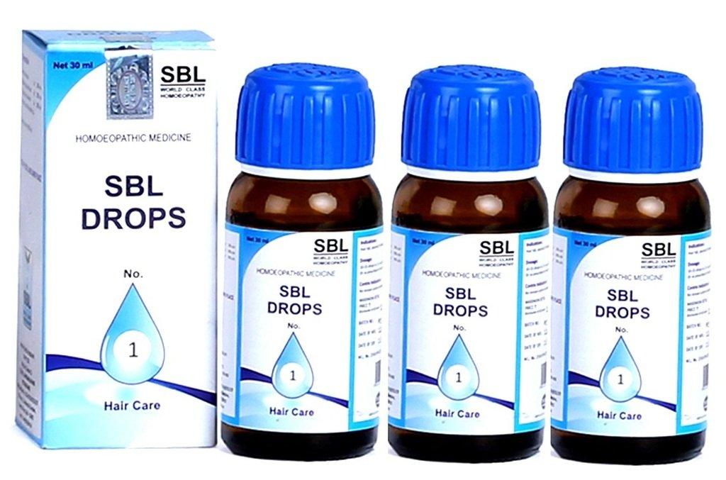 Amazon com: SBL DROPS No1 (Pack of 3): Health & Personal Care