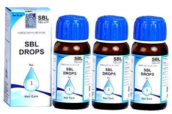 Amazon com: SBL DROPS No1 (Pack of 3): Health & Personal Care