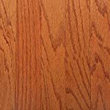 3/8 In. X 3 In. X Random Length Engineered Oak Gunstock Hardwood Floor (30 Sq. Ft./Case)-Bruce-EVS3231
