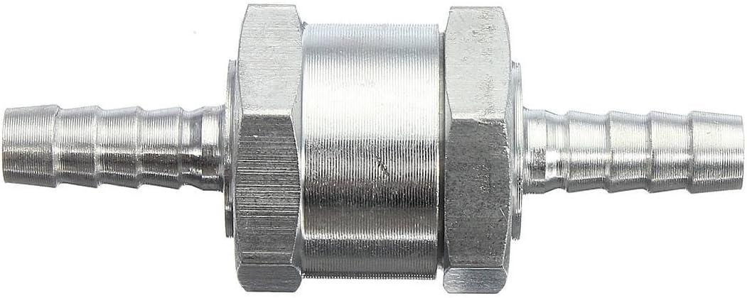 AUDEW Clapet Anti-retour Valve /à Carburant Gasoil Diesel Aluminium 6 8 10 12mm 6