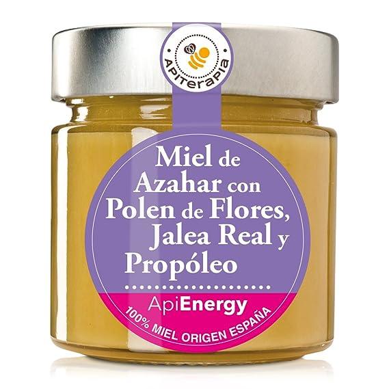 """""""Energía Máxima"""" Miel Cremosa De Azahar Con Jalea Real, Propóleo Y Polen De"""