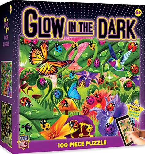 MasterPieces  Glow in the Dark Ladybugs - 100 Piece Kids Puzzle
