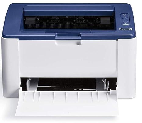 Xerox Phaser 3020 - Impresora láser (GDI, A4, USB 2.0, LAN inalámbrica, Azul, Color Blanco, 1200 x 1200 dpi, 10-32 °C)