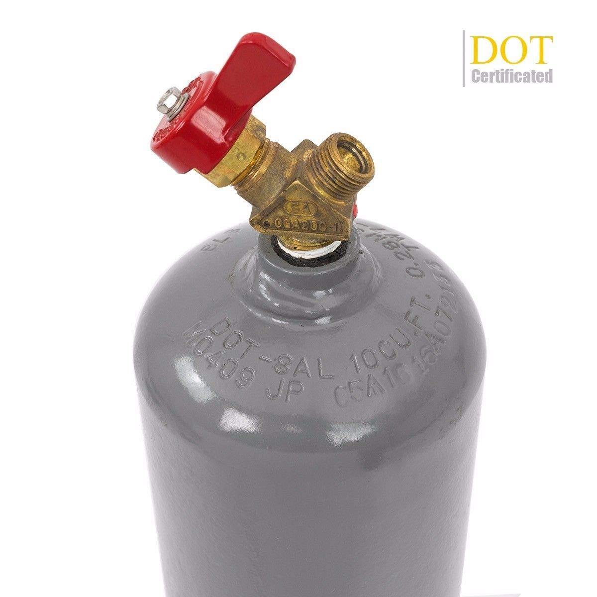STKUSA Professional Torch Kit Tote Oxygen /& Acetylene Tanks Welding Cutting Regulator w//Carrying Stand DOT Approved