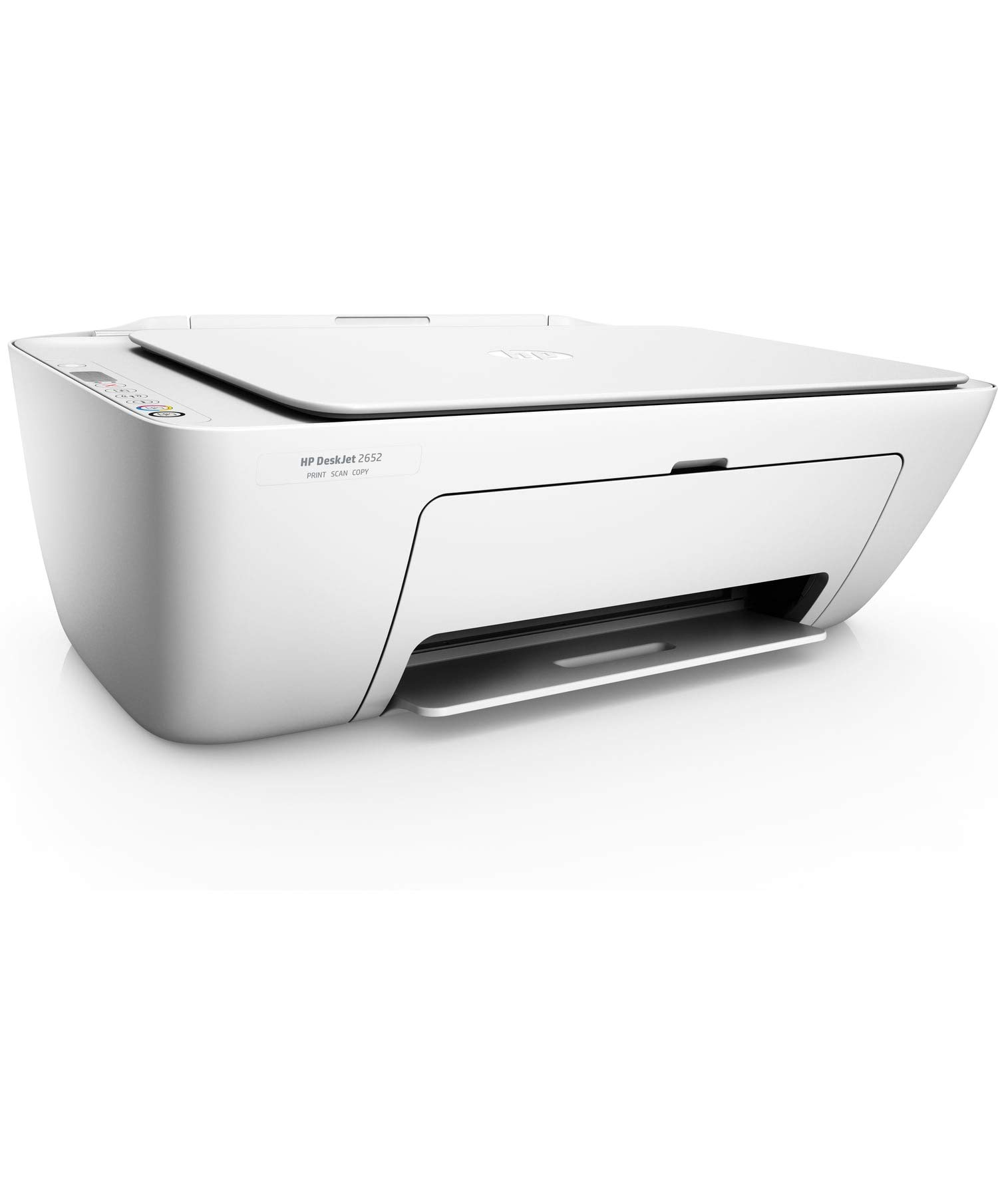 HP DeskJet 2652 All-in-One Printer in White (Renewed)