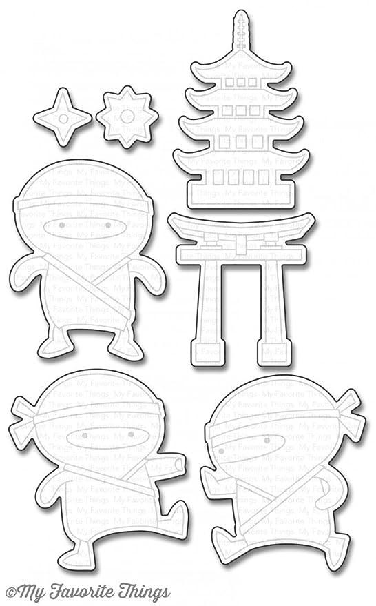 Mi favorito cosas ninja-mazing Die-Namics troqueles de corte ...