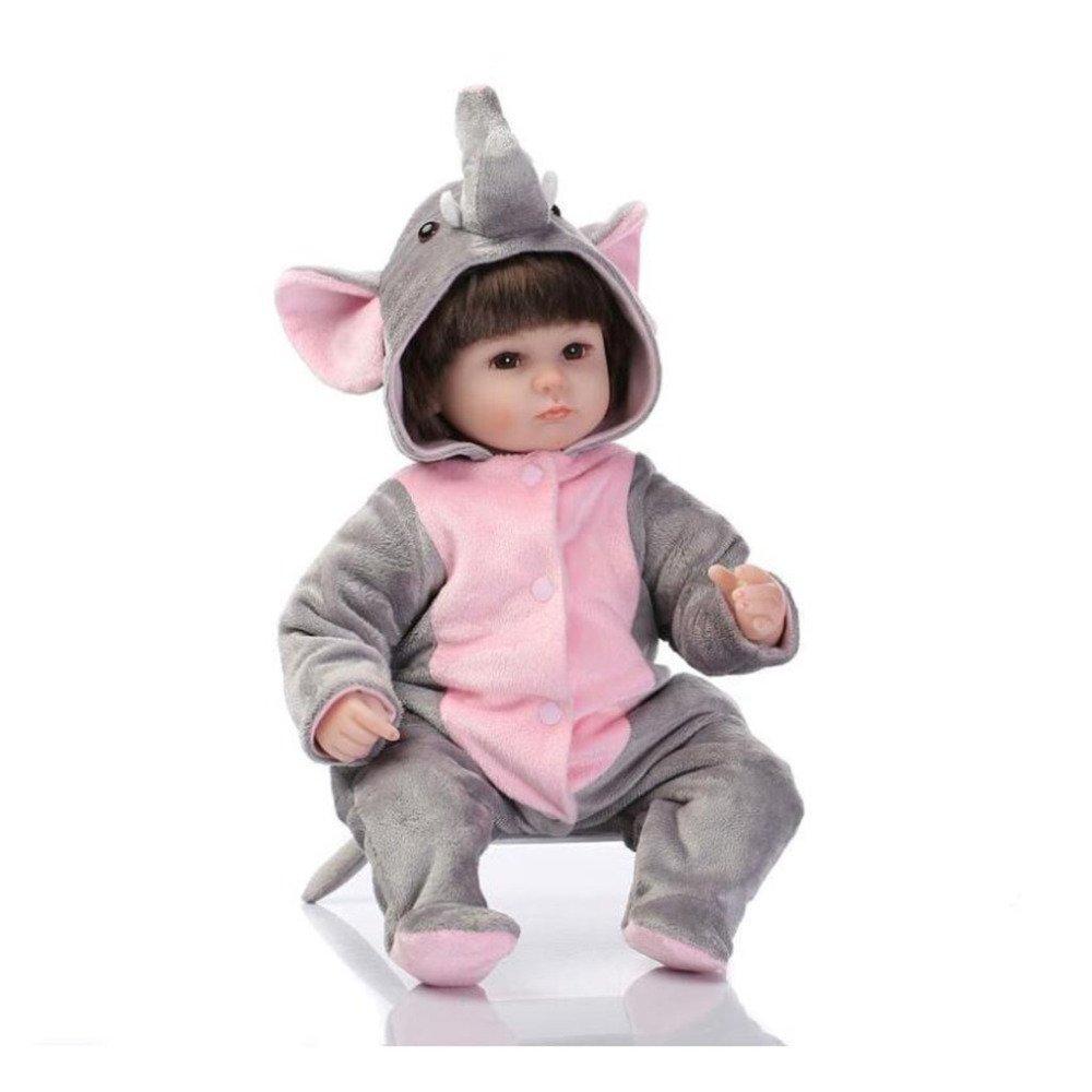 LZTET Reborn Baby Puppe Weiche Simulation Silikon Vinyl Magnetischen Mund Lebensechte Mädchen Spielzeug Beste Geschenk Für Kinder