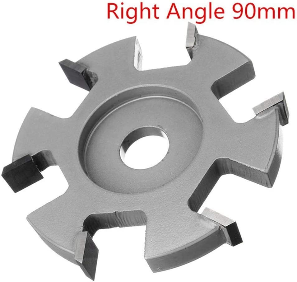 Color : #4 Ctghgyiki Diameter 16mm Bore Silver Hexagonal Blade Power Wood Carving Disc Angle Grinder Attachment 75-100mm Woodworking Tools