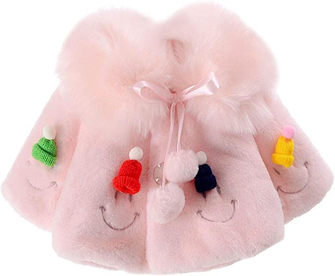 Mädchen Kinder Mode Outwear Mantel Warme Fleecejacke Winterjacke Wintermantel
