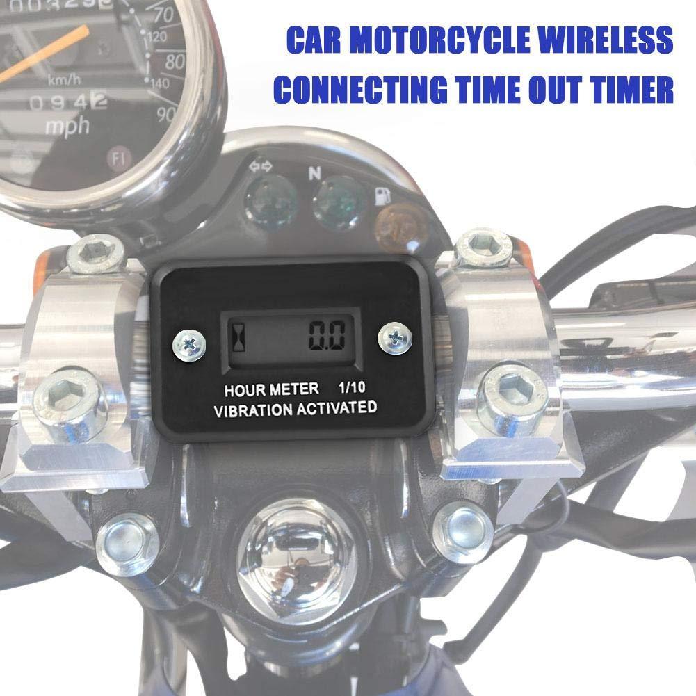 Coseyil Motor Tachometer Auto Motorrad Wasserdicht Ber/ührungserkennung Drahtlose Verbindung f/ür Alle Benzinmotoren mit Z/ündkerzen