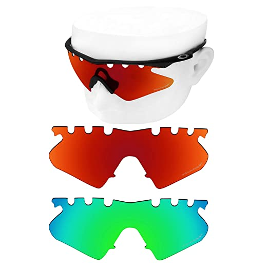 b83a652472 Image Unavailable. Image not available for. Color  OOWLIT 2 Pair Replacement  Sunglass Lenses for Oakley M Frame Heater Vented POLARIZED