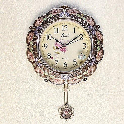 - JFFFFWI Wall Clock 18 ', Creative Alarm Clock, Wall Clock, Silent Wall Alarm Clock, Wall Clock, Quartz Clock,B