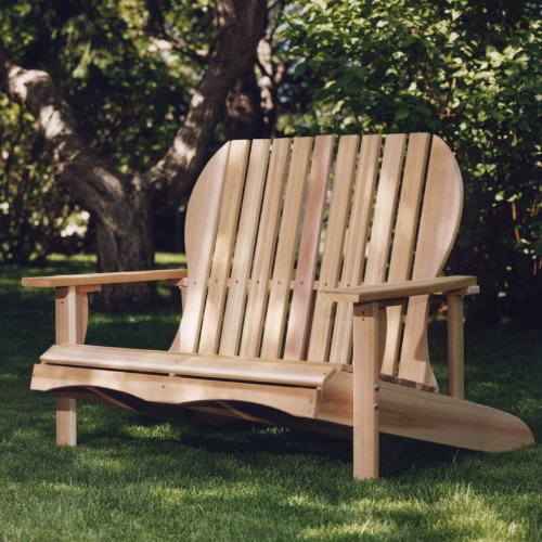 All Things Cedar - Love Seat ( Western Red Cedar )