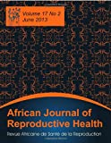 African Journal of Reproductive Health, , 1612337023