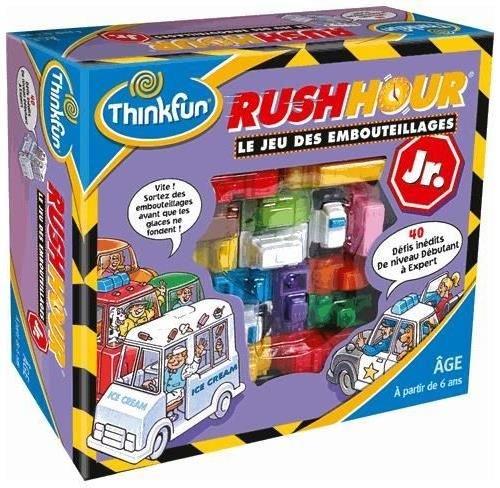 Asmodee - TFRHJ02 - Jeu d'Action et de Reflexe - Rush Hour Junior