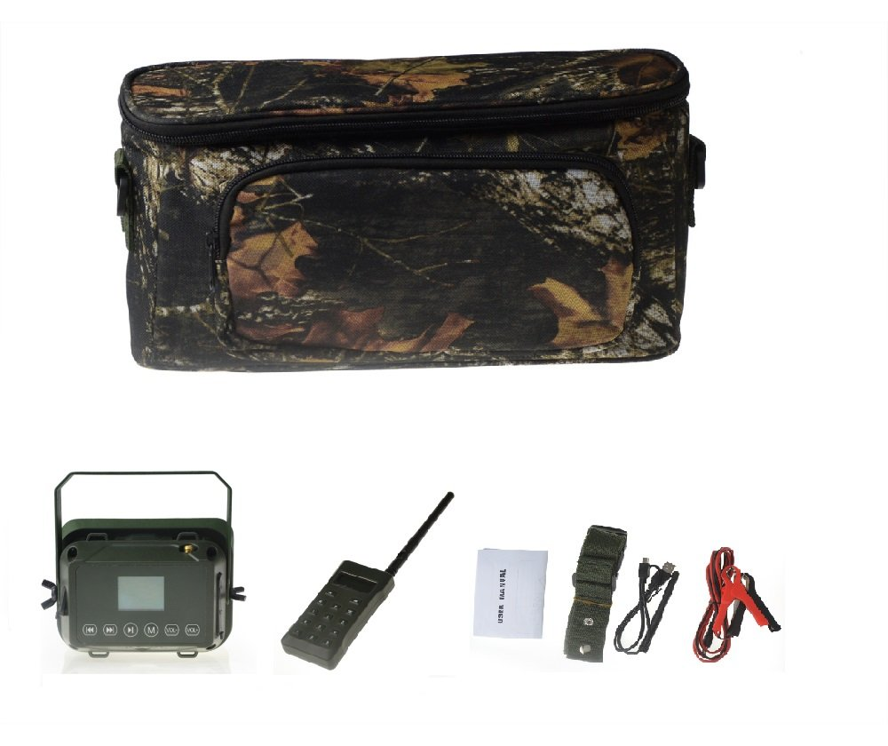 Outdoor Hunting MP3 Player Bird Decoy Caller 60W 160dB Loud Speaker Waterproof + 500M Remote by Up Force (Image #8)