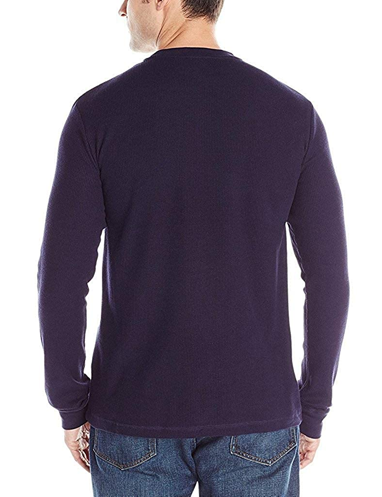 Polo Assn U.S Mens Long Sleeve Crew Neck Solid Thermal Shirt
