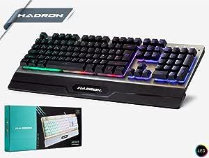 Hadron HD849 Işıklı Led Mekanik Hisli Oyuncu Klavye