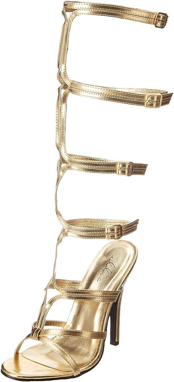 Gladiator Gold Heels