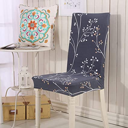 Amazon.com - SHANYT Chair Cover Stampa Floreale Anti-Sporco Sedia Di ...