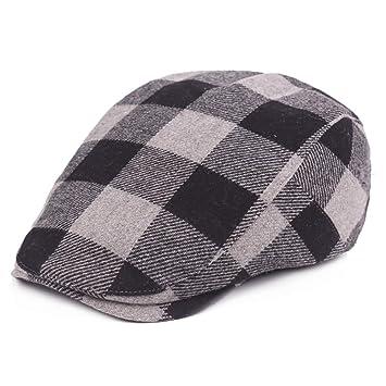 2019 Sombrero Femenino Gorra Cuadrada para Unisex de algodón ...