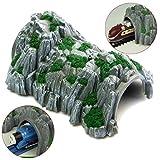 Universal Plastic 1:87 Model Toy Train Railway Tain Cave Tunnels 10x4x3.3 Inch /item# R6SG5EB-48Q24165
