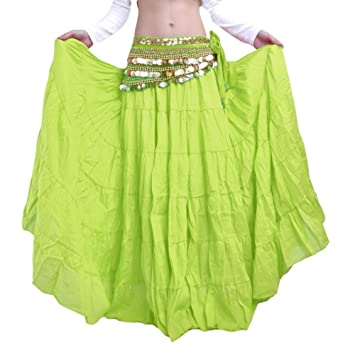 Insun Mujer Larga Maxi Faldas Falda Larga de Lino para Danza del ...