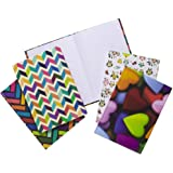 Tiger Kaleidoscope Fashion A5 Notebook - Assorted Designs Single